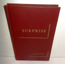 BOOK Military Classics Series SURPRISE by Possony & Vilroy op 1943 1st Eng Ed