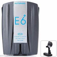 E6 Speed Radar Detector 360 Degree Alarm for Car Auto Support Camera and Alert