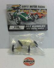 AIRFIX MOTOR RACING VIVA Axle Assemblies with Chrome Wheels (MINT) 5098V