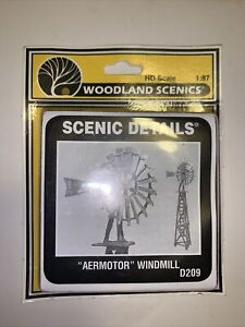 Woodland Scenics HO Scale Scenic Details Aermotor Windmill D209