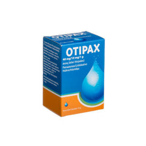OTIPAX Ear Drops - 15ml Inflammation, Pain Relief, Soft Wax Effective