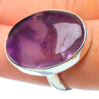 Large Amethyst 925 Sterling Silver Ring Size 7.5 Ana Co Jewelry R34889F