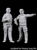 Resina Novo Black Dog T72051 1//72 Us Modern Tank Crew 6 Bonecos