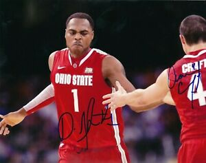Aaron Craft and Deshaun Thomas Ohio State Buckeyes Autographed Signed 8x10 Photo