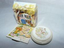 RARE Savon soap collection Vintage AVON Little Blossom's Cottage Neuf