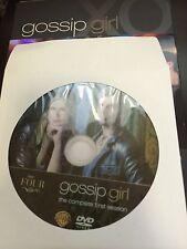 Gossip Girl - Season 1, Disc 4 REPLACEMENT DISC (not full season)