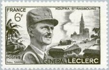 FRANCE - 1948 - Military Général Leclerc - Koufra-Strasbourg - MNH Stamp - #604