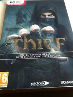 Thief: Limited Edition Metal Case(Steelbook)+ Bank Heist Mission PC DVD-ROM Game