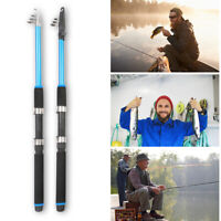 Outdoor Mini Glass Fiber Telescopic Fishing Pole Ultra-light Casting Fishing Rod
