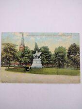 Vintage Postcard Washington Monument Allegheny PA