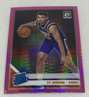 Ty Jerome 2019-20 Donruss Optic Hyper Pink Prizm Rated Rookie #167 RC Suns