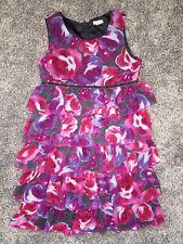 Girls Children's Place Floral Ruffle Dress Size 10