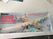 "Guillows B-24D  Liberator . ""Giant Scale"" Model Kit"