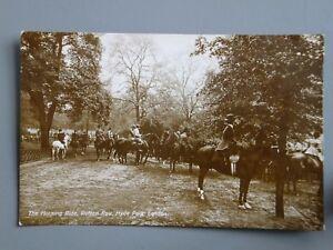 R&L Postcard: Horse Morning Ride Rotton Row Hyde Park London