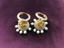 Indian Bollywood Style Traditional Jewelry - Earrings (Brand New)
