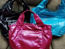 Maxx New York Majestic Hobo NWT BLACK/Turquoise/Fuchsia Extra Large Handbag