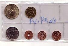 Filippine  Philippines   set 7  monete   FDC