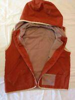 Giubbotto senza maniche - non imbottito - taglia 10/11 anni - marrone - Usato