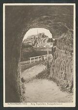 Blankenburg - Harz  Burg Regenstein  Raubgrafentunnel