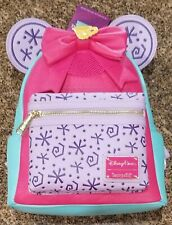 Minnie Mouse The Main Attraction March Mad Teacup Loungefly Backpack IN HAND NOW
