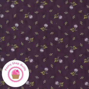 Moda MILL CREEK GARDEN 2244 12 Purple Flowers JAN PATEK Quilt Fabric
