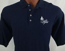 Cohutta Springs Conference Center Blue Polo Shirt Cotton Blend XL X-Large