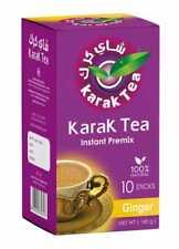 Karak Tea Premix Instant Tea Original Cardamom Ginger Saffron Unsweetened Chai