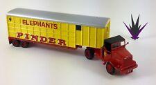 Cirque Pinder Altaya 02 Camion Marmon Herrington M426 + remorque éléphants 1/64