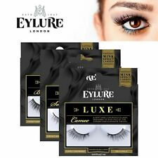 Eylure Luxe Lash Ladies Reusable Adhesive False Eyelashers 100% Cruelty Free NEW