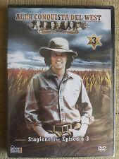 Alla conquista del West numero 3 - Stagione 1 Episodio 3 - DVD nuovo sigillato