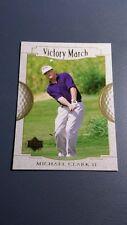MICHAEL CLARK II 2001 UPPER DECK GOLF CARD # 160 B7300