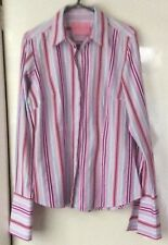CHARLES TYRWHITT SIZE 10 UK TAILORED STRIPED SHIRT. EXCELLENT CONDITION.