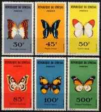 SENEGAL 1963 - SET BUTTERFLIES MNH