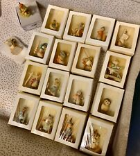 "New Listing18 Toriart Anri Beatrix Potter 1.5"" Mini Figures (only 16 original boxes)"