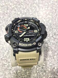 Casio Men's G Shock Master of G Mudmaster Analog Digital Watch GG1000-1A5