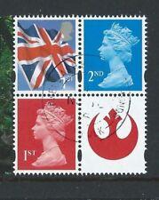 Gestempelte Briefmarken aus Großbritannien mit Star Wars-Motiv