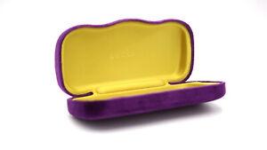 Gucci Velvet Purple Case for Eye Glasses or Sunglasses