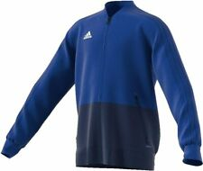 adidas Kinder Condivo 18 Trainingsjacke, Bold Blue/Dark Blue/White, 128