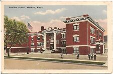 Carlton School in Wichita KS Postcard