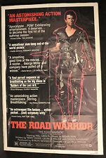 The Road Warrior Original 1-sheet -1981 Mad Max Folded USA Style B (C-5)