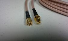 US MADE     75  FT     SMA male / SMA female  RG-400   50 ohm     coax cable