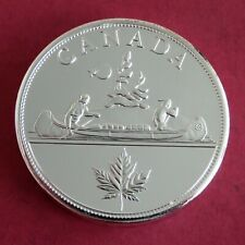 More details for canada 1936 edward viii silver coated piedfort proof pattern voyageur crown