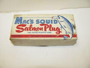 MAC'S SQUID SALMON PLUG LURE BOX TACOMA WA