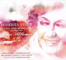 One For Marian McPartland tribute Roberta Piket jazz piano CD Virginia Mayhew