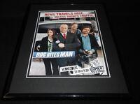 Dog Bites Man 2006 Framed 11x14 ORIGINAL Vintage Advertisement Comedy Central