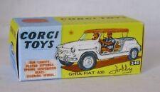 Repro box CORGI Nº 240 Ghia FIAT 600 Jolly