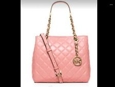 MICHAEL Michael Kors susannah SM QUILTED in blossom MSRP $358 BRAND NEW