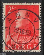 Norway 1959, Olav NK 471 Son Hamnvik 29-10-1969 (Troms)