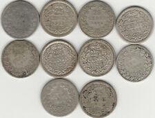 Niederlande.10 x 25 Cents 1849 - 1926.!!#29