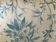 RALPH LAUREN DUVET COVERLET SET Pillow Cover Shams Blue White Floral FUL/QUEEN